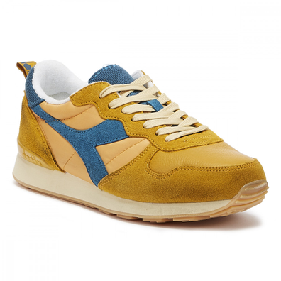 Diadora Camaro Mens Orange Mustard Trainers productafbeelding