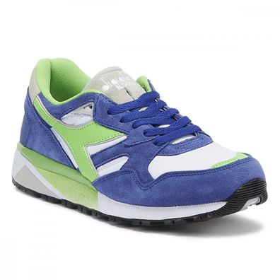 Diadora N9002 Mens Imperial Blue / White Trainers productafbeelding
