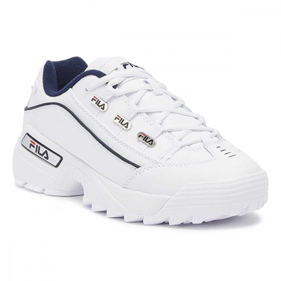 Fila Hometown Extra White / Navy Trainers productafbeelding