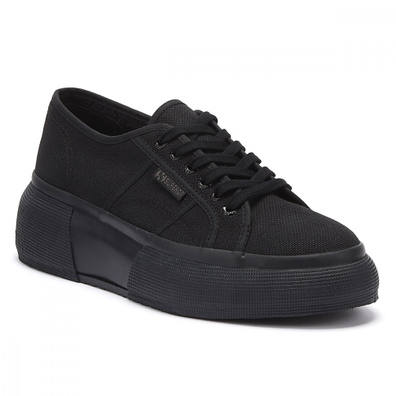 Superga 2287 Cotu Womens Black Trainers productafbeelding