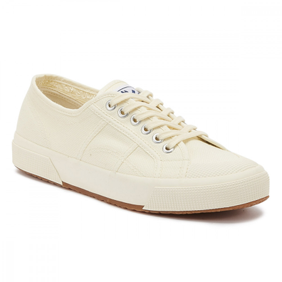 Superga 2390 Cotu Mens Ecru Trainers productafbeelding