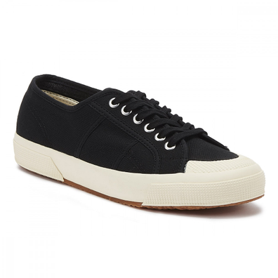 Superga 2390 Cotu Mens Black Trainers productafbeelding
