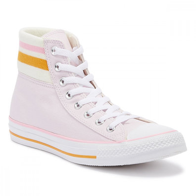Converse 70s Meet 80s Chuck Taylor All Star Womens Pink Hi Trainers productafbeelding