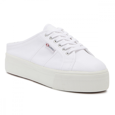 Superga 2284 Cotu Womens White Trainers productafbeelding