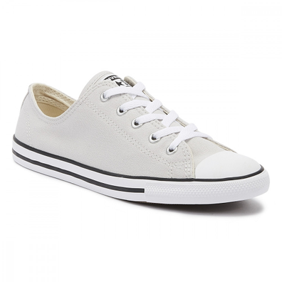 Converse Chuck Taylor All Star Dainty Womens Mouse Grey Ox Trainers productafbeelding