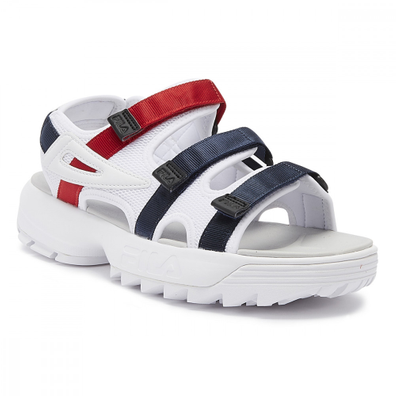 Fila Disruptor Womens White Sandals productafbeelding