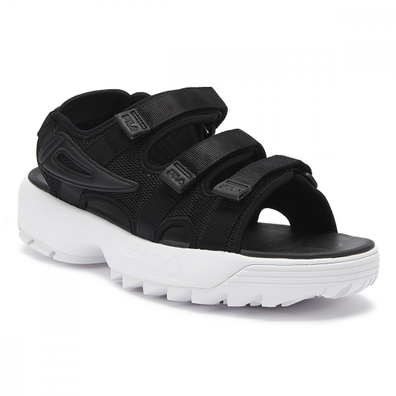 Fila Disruptor Womens Black / White Sandals productafbeelding