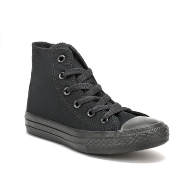 Converse Youth Chuck Taylor All Star Black Trainers productafbeelding