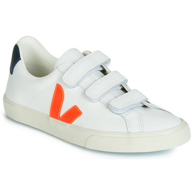 Veja 3-LOCK LOGO LEATHER productafbeelding