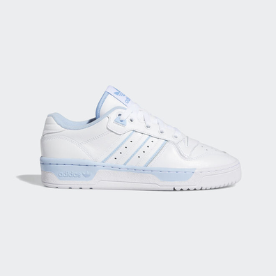 adidas Rivalry Low W Ftw White/ Ftw White/ Glow Blue productafbeelding