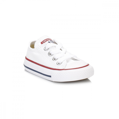 Converse Toddler White All Star Ox Trainers productafbeelding