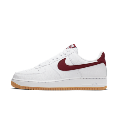 Nike Air Force 1 '07 'White/Team Red' productafbeelding