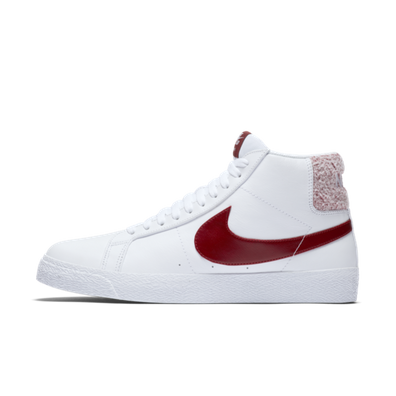 Nike SB Zoom Blazer Mid Premium 'Team Red/White' productafbeelding