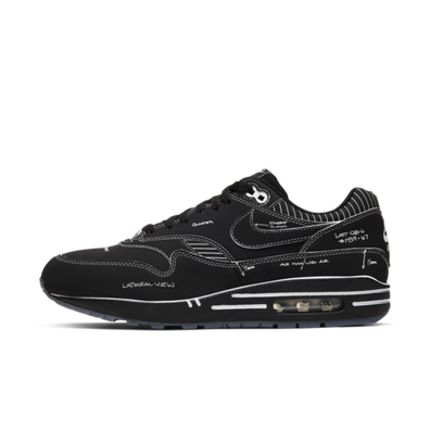 Nike Air Max 1 QS 'Sketch to Shelf' Black productafbeelding