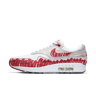 Nike Air Max 1 QS 'Sketch To Shelf' OG Red productafbeelding