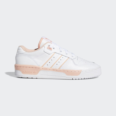 adidas Rivalry Low W Ftw White/ Ftw White/ Glow Pink productafbeelding