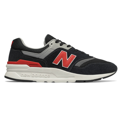 New Balance CM997HDK (Black / Red) productafbeelding