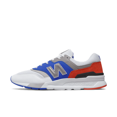 New Balance CM997HZJ 'White/Blue' productafbeelding