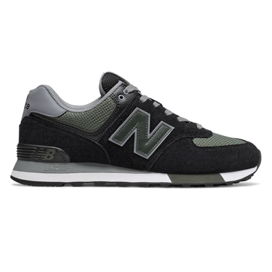 New Balance ML574FNA (Black / Green) productafbeelding