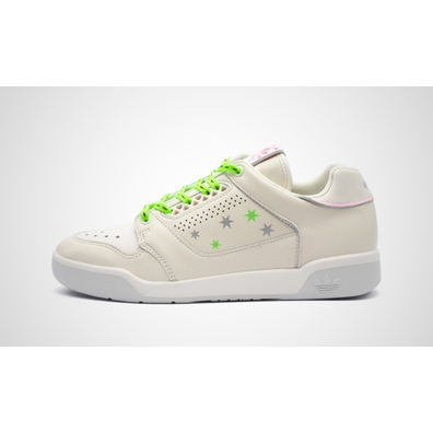 adidas Slamcourt W (Clear White / Clear White / Grey One) productafbeelding