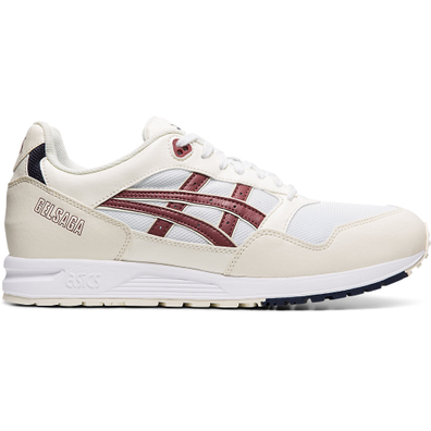 Asics Gel Saga (White / Brisket Red) productafbeelding