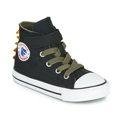 Converse CHUCK TAYLOR ALL STAR 1V DINO SPIKES CANVAS HI productafbeelding