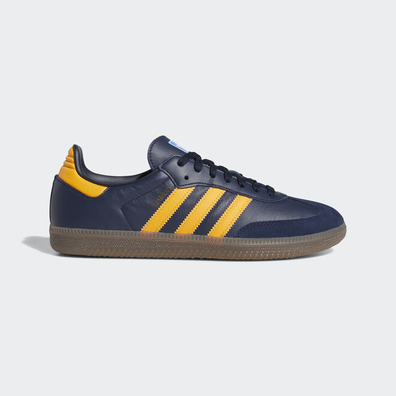 adidas Samba OG Collegiate Navy/ Real Gold/ Ftw White productafbeelding