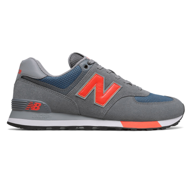 New Balance ML574NFO (Grey / Blue) productafbeelding