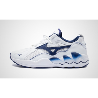 Mizuno Wave Rider 1 (White / Blue Depths) productafbeelding