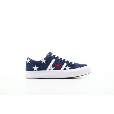 "Converse One Star OX Acadamy Prints ""Navy"" productafbeelding"