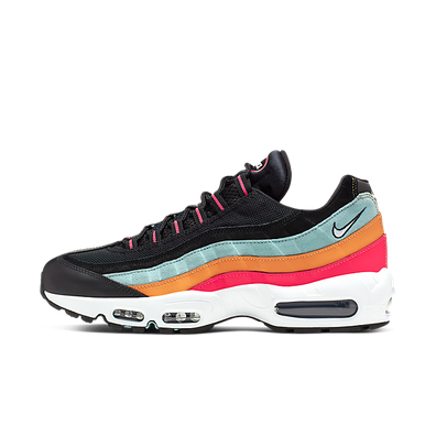 Nike Air Max 95 Essential Black/ White-Ocean Cube-Kumquat productafbeelding