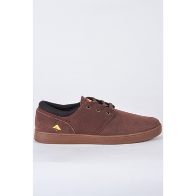 Emerica The Figueroa Brown/Gum/Gold productafbeelding