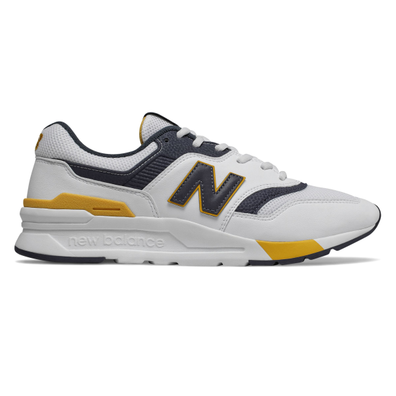 New Balance CM997HDL (White / Navy) productafbeelding
