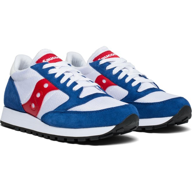 Saucony Jazz Original Vintage (White / Blue / Red) productafbeelding