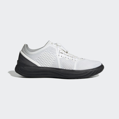 adidas x Stella McCartney PureBOOST Trainer Core White/ Iron Metalic/ Light Solid Grey productafbeelding