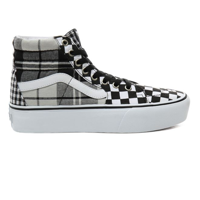 VANS Plaid Checkerboard Sk8-hi 2.0 Platform productafbeelding