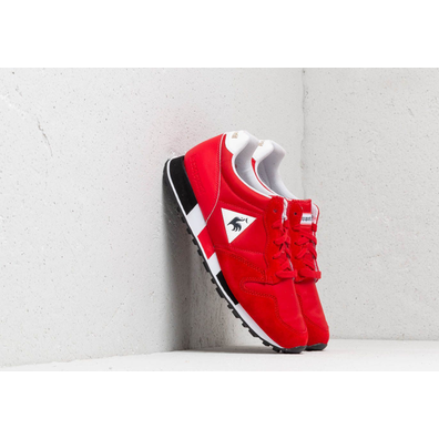 le coq sportif Omega Pure Red/ Black productafbeelding