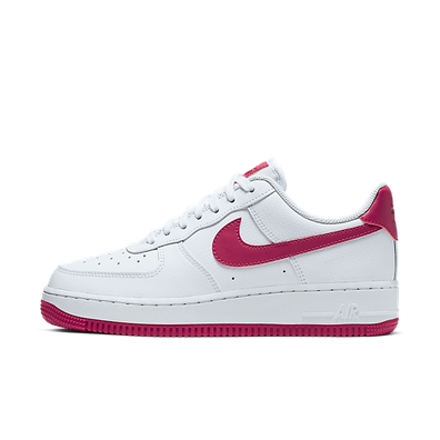 Nike Wmns Air Force 1 '07 (White / Wild Cherry - White - Noble Red) productafbeelding