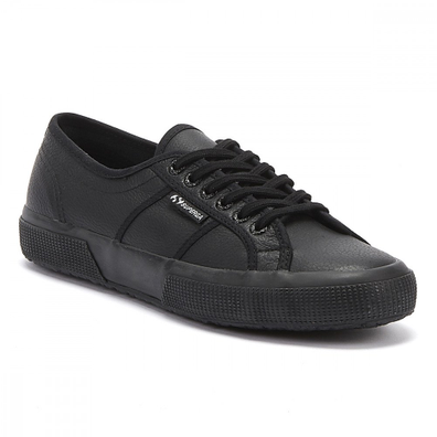 Superga 2750 Efglu Womens Black Trainers productafbeelding