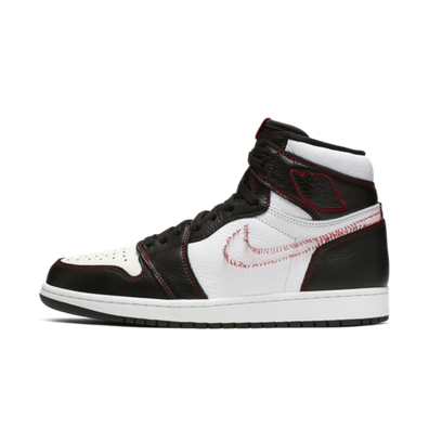 Air Jordan 1 Defiant Couture 'Stitch Swoosh' productafbeelding