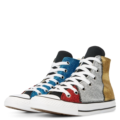 Chuck Taylor All Star Multicolour Glitter High Top productafbeelding