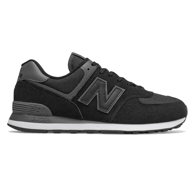 New Balance 574 Black/ Black productafbeelding