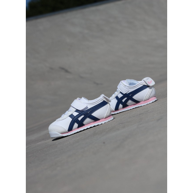 Asics Mexico 66 white/pink/blue TS productafbeelding
