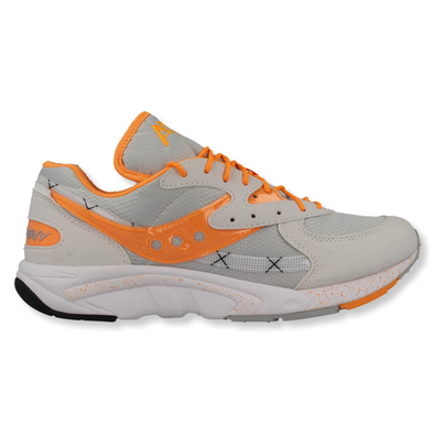 Saucony Aya (White / Grey / Orange) productafbeelding