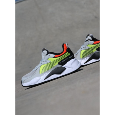 Puma Rs-X hard drive grey/yellow GS productafbeelding