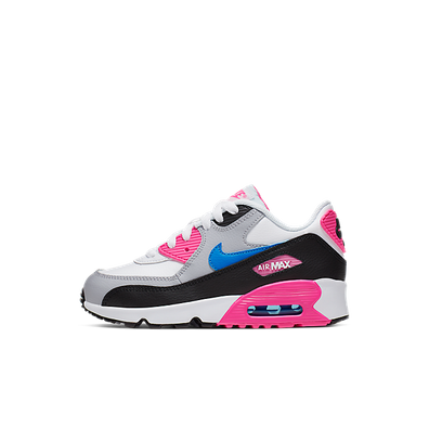 Nike Girls' Air Max 90 Leather (PS) Pre-School Shoe productafbeelding