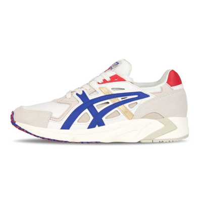 Asics x Carnival Muay Thai Gel-DS Trainer OG Cream / Asics Blue productafbeelding