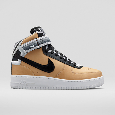 Nike Riccardo Tisci 'Beige Pack Air Force 1' mid-tops productafbeelding