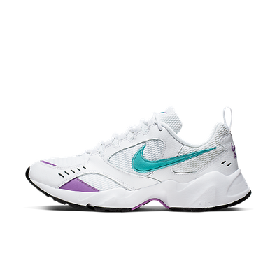 Nike Air Heights (White / Teal Nebula - Bright Violet) productafbeelding