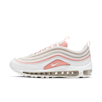 Nike Wmns Air Max 97 (Summit White / Summit White - Bleached Coral) productafbeelding
